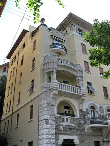 La casa del fauno - Casa stile liberty ...