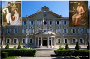 Villa necker - Finestra a tre aperture ...